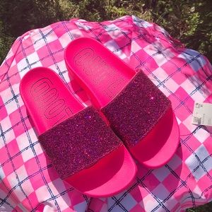 Adidas Adilette Glitter Slide